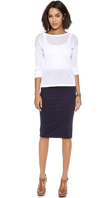 BB Dakota Yvette Pencil Skirt