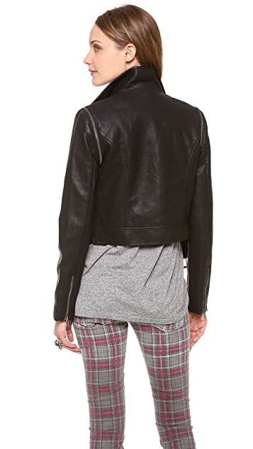 BB Dakota Eliza Zip Off Sleeve Jacket