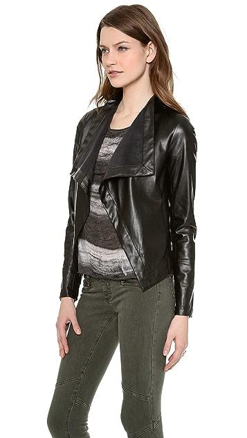 BB Dakota Isra Vegan Leather Jacket