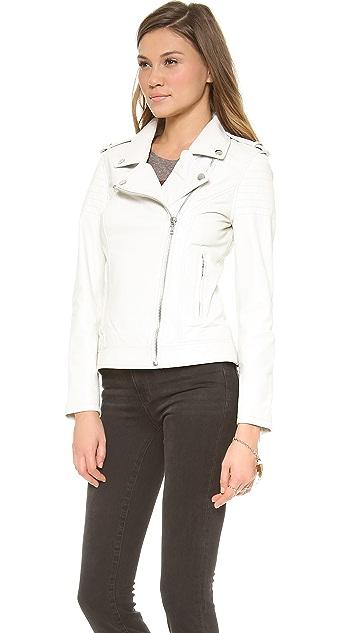 BB Dakota Dakota Collective Lenix Leather Moto Jacket