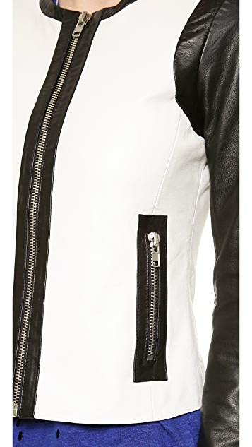 BB Dakota Dakota Collective Alec Leather Jacket