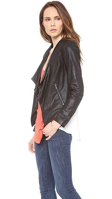 BB Dakota Chanelle Leather Jacket