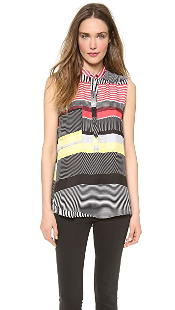 BB Dakota Josette Sleeveless Blouse