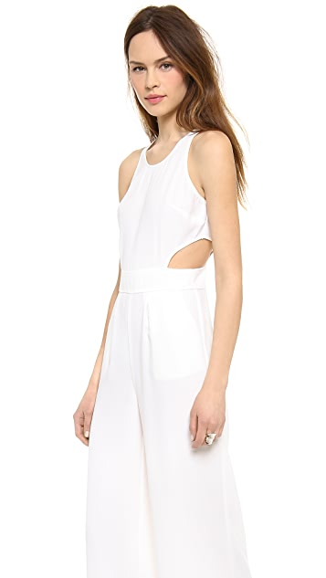 BB Dakota Manele Crepe Jumpsuit