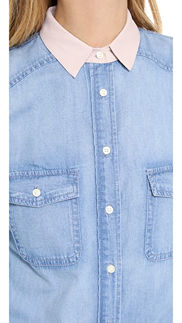BB Dakota Dakota Collective Lina Denim Shirt