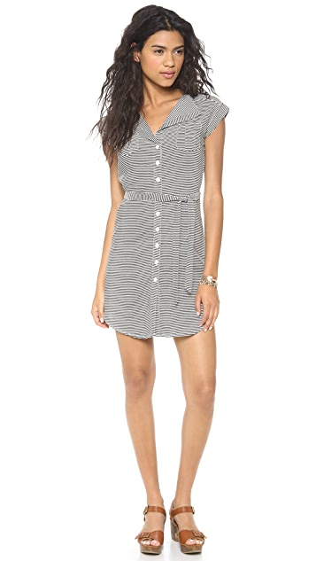 BB Dakota Zanita Striped Dress