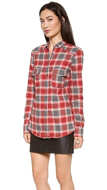 BB Dakota Dakota Collective Sharne Plaid Flannel Shirt