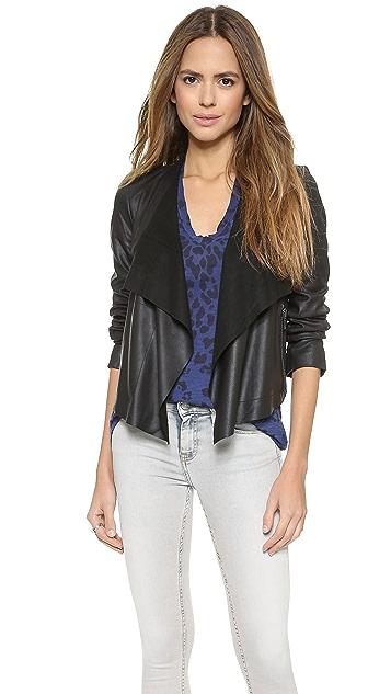 BB Dakota Rissi Leather Jacket