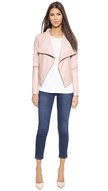 BB Dakota Lillian Drapey Front Jacket