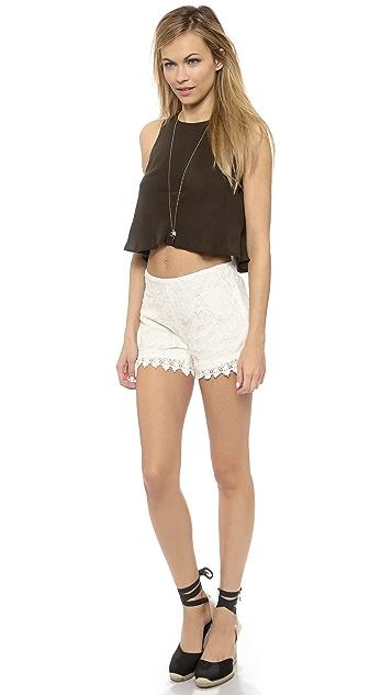 BB Dakota Hartley Lace Shorts