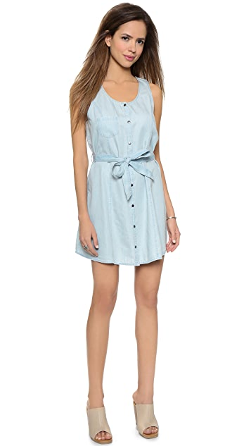BB Dakota Jack by BB Dakota Gerrit Chambray Dress