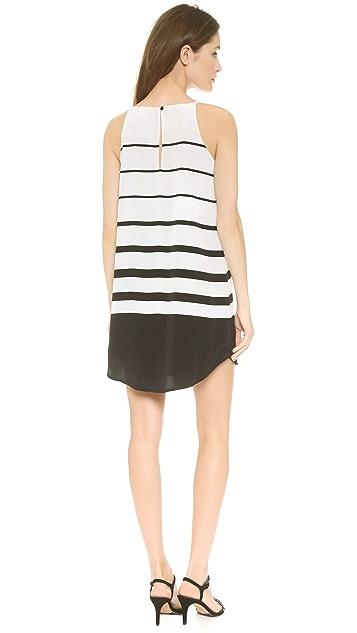 BB Dakota Amelia Varigated Stripe Dress