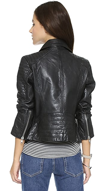 BB Dakota Benton Leather Jacket