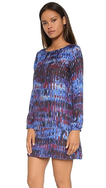 BB Dakota Emily Night Sky Print Dress