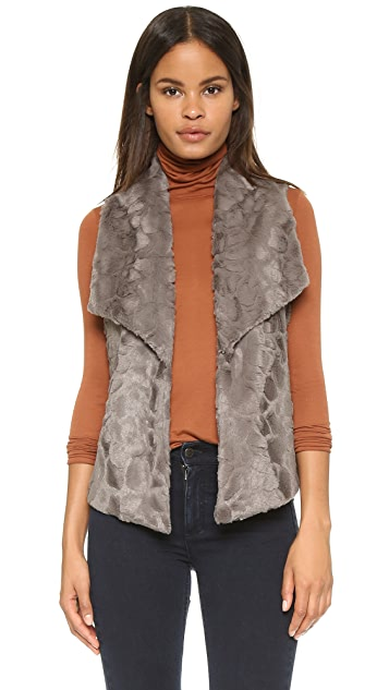 BB Dakota Jack by BB Dakota Elektra Faux Fur Vest