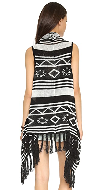 BB Dakota Jack by BB Dakota Damen Fringe Vest