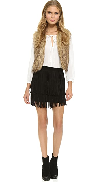 BB Dakota Jack by BB Dakota Azza Faux Fur Vest