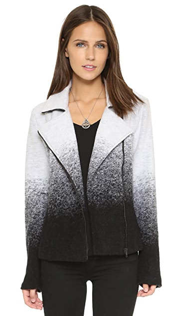 BB Dakota Bell Ombre Moto Jacket