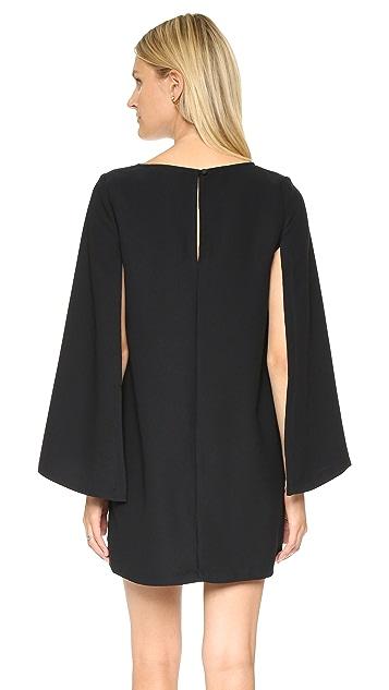 BB Dakota Gretchen Cape Dress