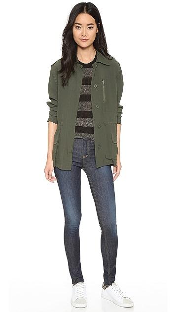 BB Dakota Lana Army Jacket