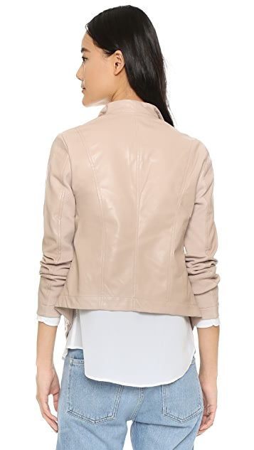 BB Dakota Ariana Drape Front Jacket