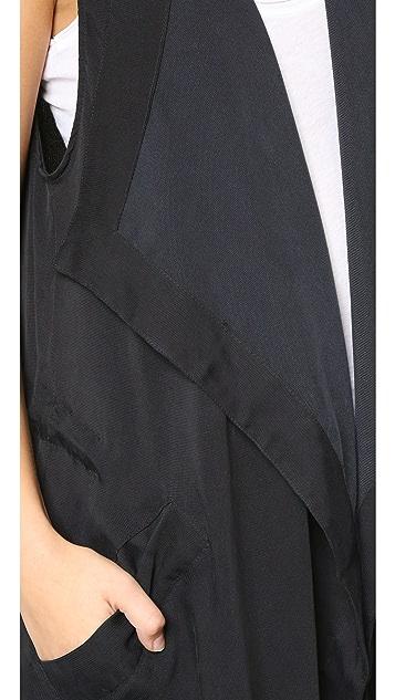 BB Dakota Mclaine Drape Front Vest