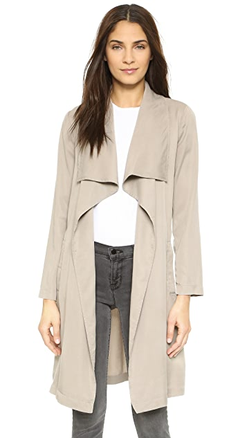 BB Dakota Braylon Drape Trench Jacket