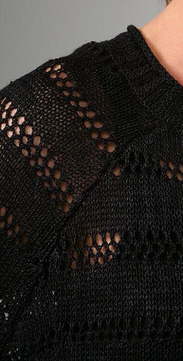 BCBGMAXAZRIA Textured Pullover Sweater