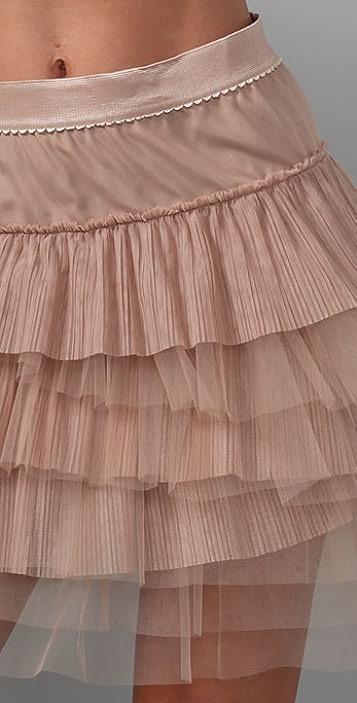 BCBGMAXAZRIA Tulle Tutu Skirt