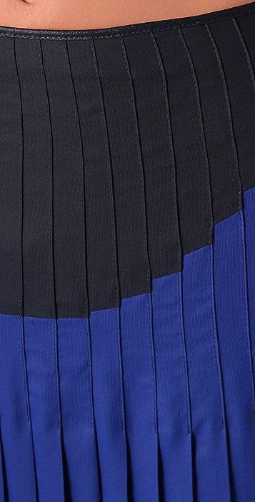 BCBGMAXAZRIA The Nouveau Pleated Skirt
