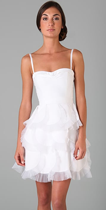 BCBGMAXAZRIA Strapless Cocktail Dress