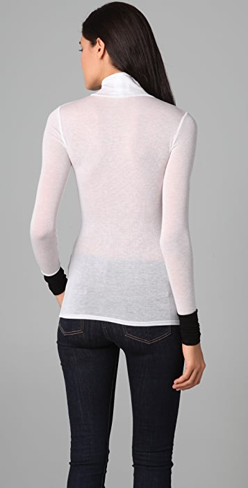 BCBGMAXAZRIA Long Sleeve Turtleneck