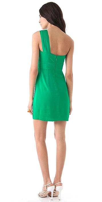 BCBGMAXAZRIA Palais One Shoulder Dress