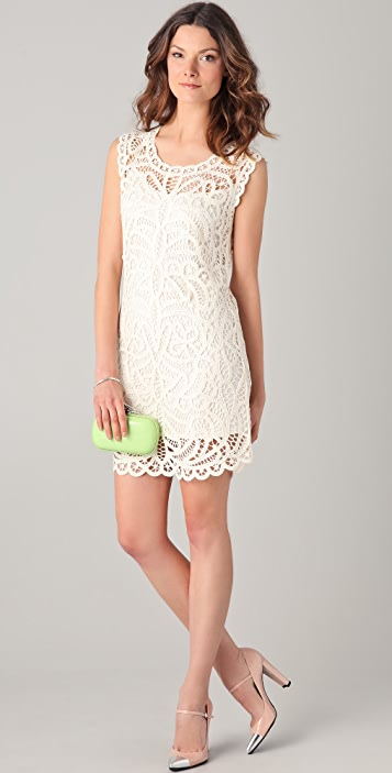 0a3be72eb2f BCBGMAXAZRIA Beti Crochet Dress