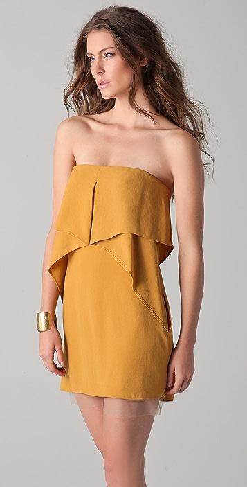 BCBGMAXAZRIA Fei Fei Strapless Dress