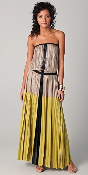 dbc19a6e2ea BCBGMAXAZRIA Lilyan Strapless Maxi Dress