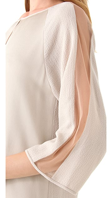 BCBGMAXAZRIA Tilda Colorblock Dress