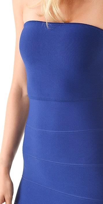 BCBGMAXAZRIA Alyona Strapless Dress