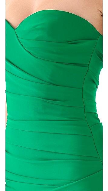 BCBGMAXAZRIA Madge Strapless Dress