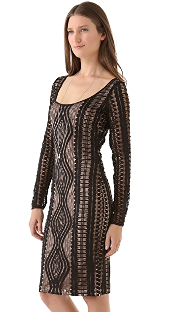 BCBGMAXAZRIA Tanya Lace Dress