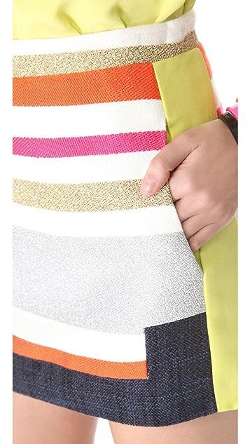 BCBGMAXAZRIA Ruba Skirt