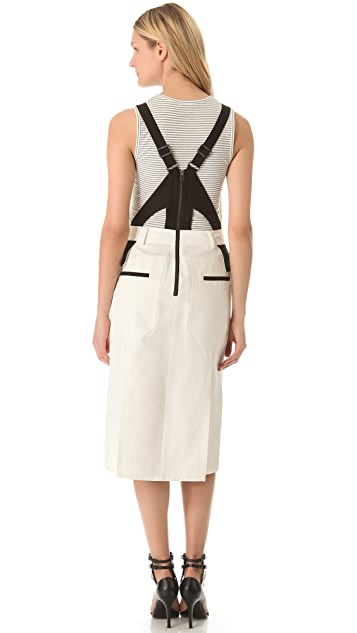 BCBGMAXAZRIA Harness Jumper