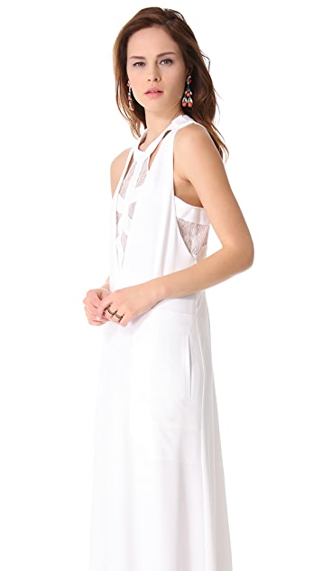 BCBGMAXAZRIA Bijou Maxi Dress