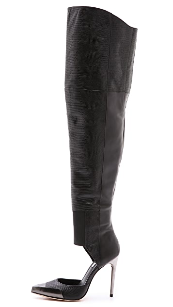 BCBGMAXAZRIA Concorde d'Orsay Over the Knee Boots
