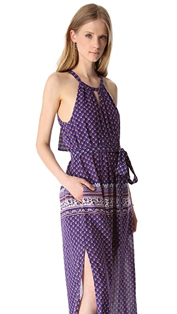 BCBGMAXAZRIA Mia Paisley Maxi Dress