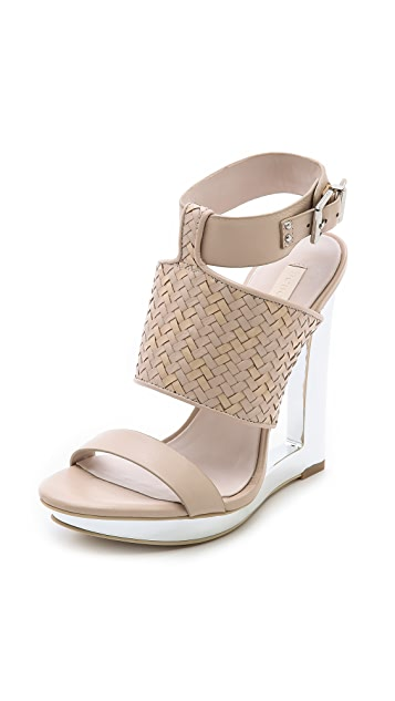 BCBGMAXAZRIA Mave Open Wedge Sandals