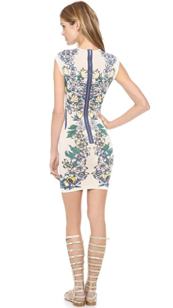 BCBGMAXAZRIA Ellena Printed Dress
