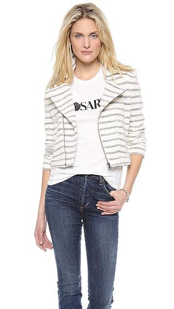 BCBGMAXAZRIA Stripe Jacket