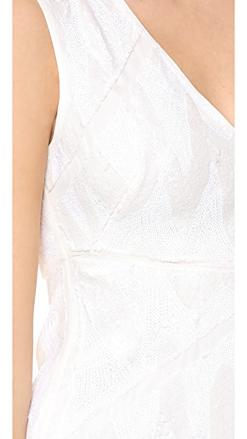 BCBGMAXAZRIA Salma Sequined Dress