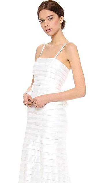 BCBGMAXAZRIA Rose Gown